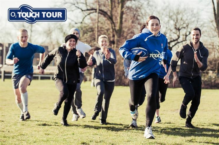 O2 launches touch rugby tour with support of Jonny Wilkinson