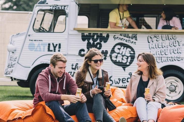 Oatly hosted consumers at its Break-fest event in Brixton