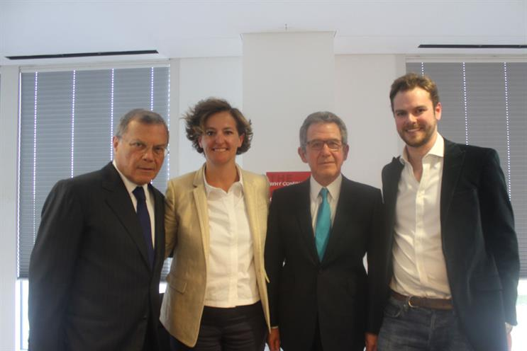 Sir Martin Sorrell, Annette King, Lord Browne and Andrew Barratt
