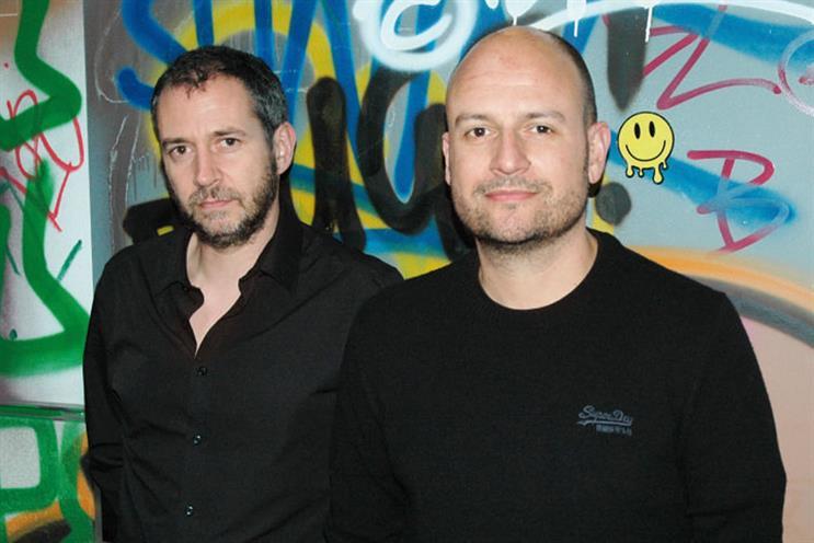 Ogilvy hires: Cascarina (left) and Goldring