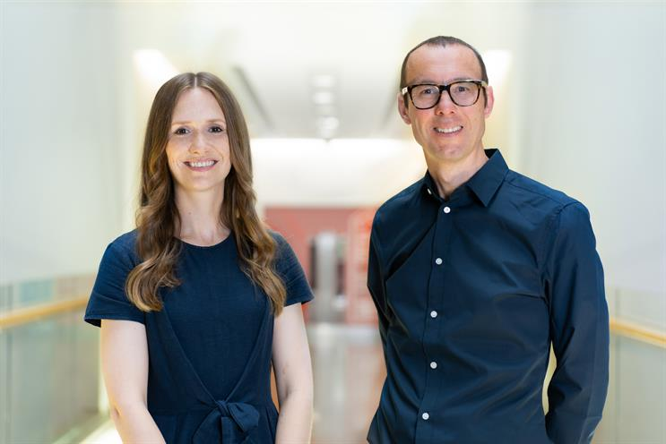 Laura Collins (l) and Henry Rowe: joining OMG
