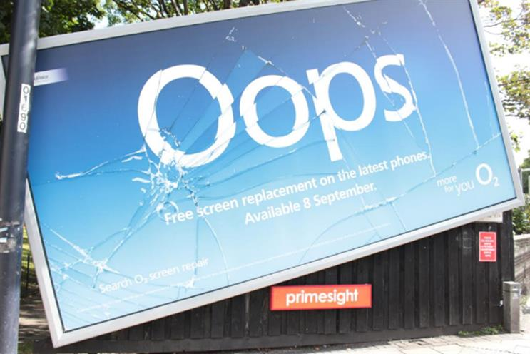 O2's 'Oops': ranked fourth highest among the world's most awarded campaigns