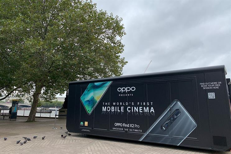 Oppo Mobile: a selection of films will be available