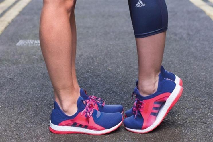 The buzz: Adidas' matching women's trainers ad divides opinion