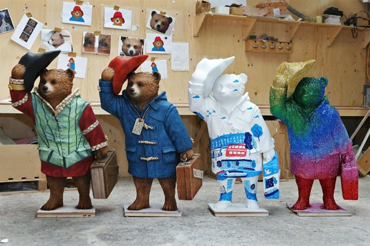 The first four Paddington statues revealed