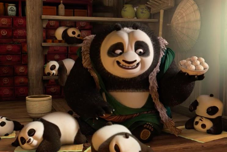 Kung Fu Panda 3: Sky is using it to kick off its broadband sale