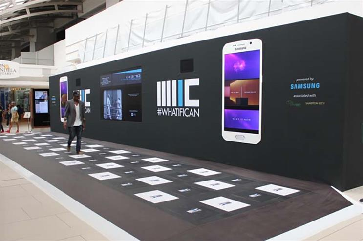 Experiential technology: Samsung worked with Pavegen to create this brand activation