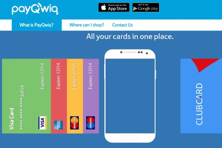Tesco lets customers pay by smartphone with PayQwiq trial