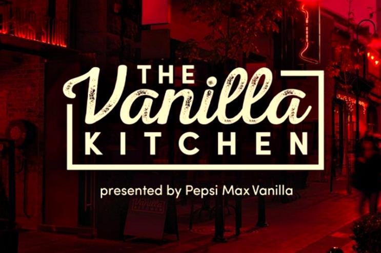 Pepsi Max Vanilla created a pop-up dining experience in Sydney