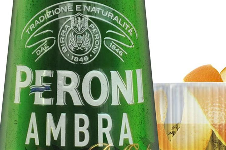 Peroni Ambra: marking launch with terrace takeover