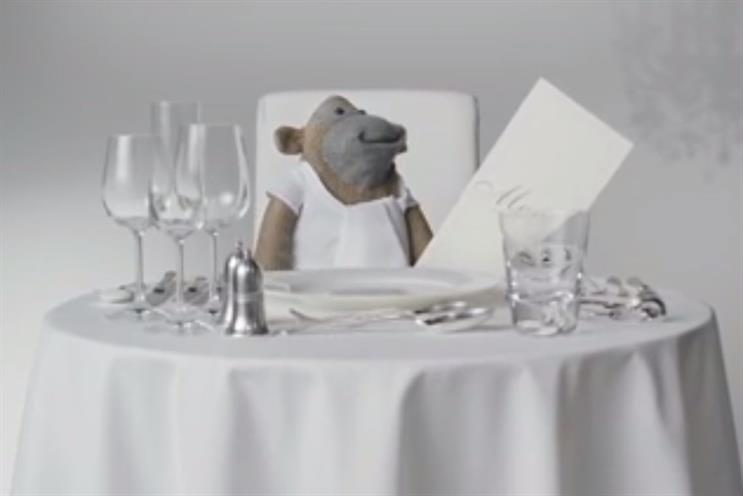 PG Tips: monkey character features in ads created by Mother