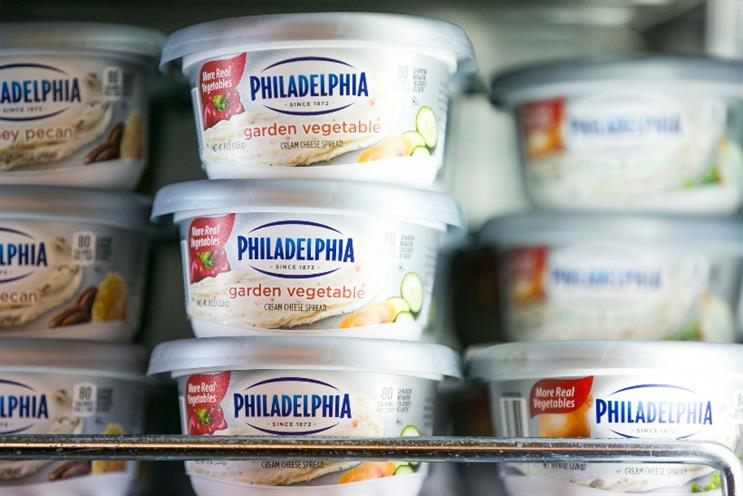 Kraft Foods: US firm owns several $500m brands, including Philadelphia