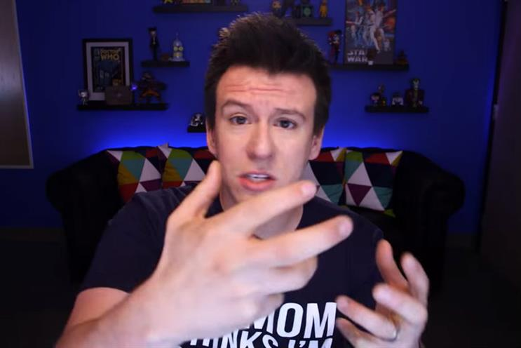 YouTube: vlogger PhillyD has hit out at the company's demonetisation policy