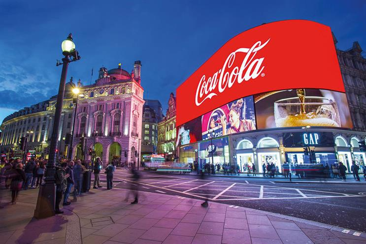 Piccadilly Lights: advertising sold by Ocean