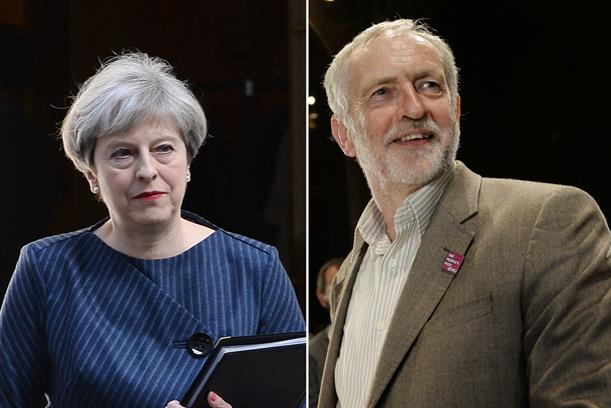 Theresa May has lost a Conservative majority, while Labour has gained seats under Jeremy Corbyn