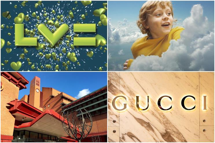 Reviews: LV=, Sm,art Energy GB, The British Library and Gucci owner Kering are all seeking agencies