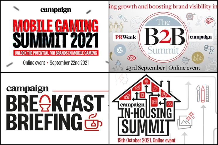 Campaign: four events take place online and in person in September and October