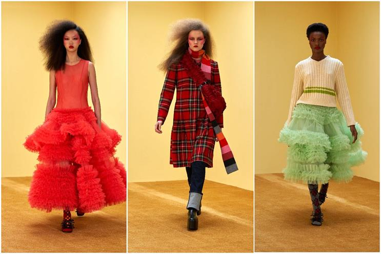LFW: Molly Goddard delivered a live streamed show