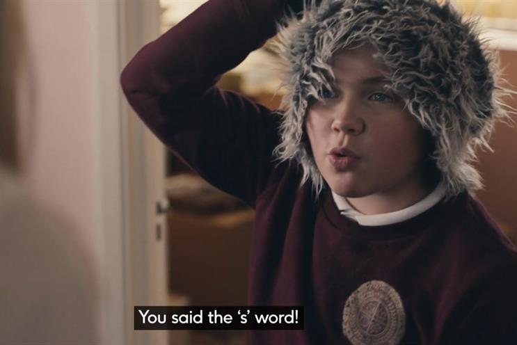 BHF: 2020 ad featured boy attempting to provoke family into swearing to raise money