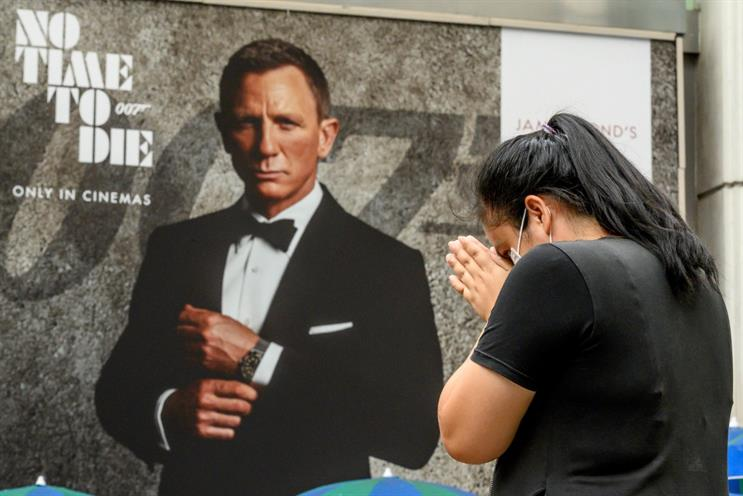 No Time To Die: industry is praying Bond and other major releases will drive return of audiences (Image: Mladen Antonov/Getty)