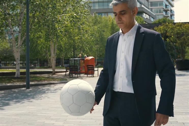 Sadiq Khan: not too shabby with the ball
