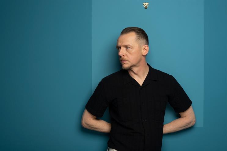 Simon Pegg: speaking at the UK Creative Festival next week