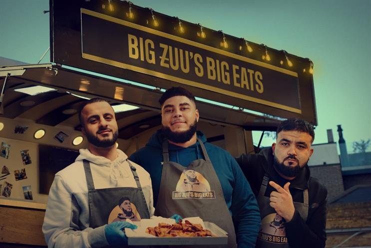 UKTV: shows include Big Zuu's Big Eats on Dave