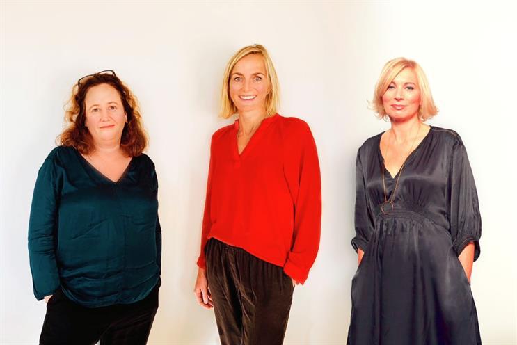 Liberty Hive: Laura Braithwaite, Kate Merritt and Pippa Glucklich