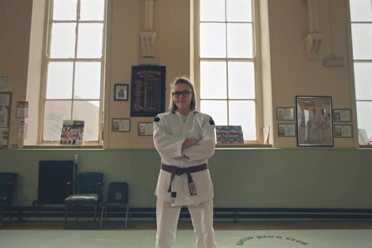 Dettol: films profile people including judo star Catlin Leigh