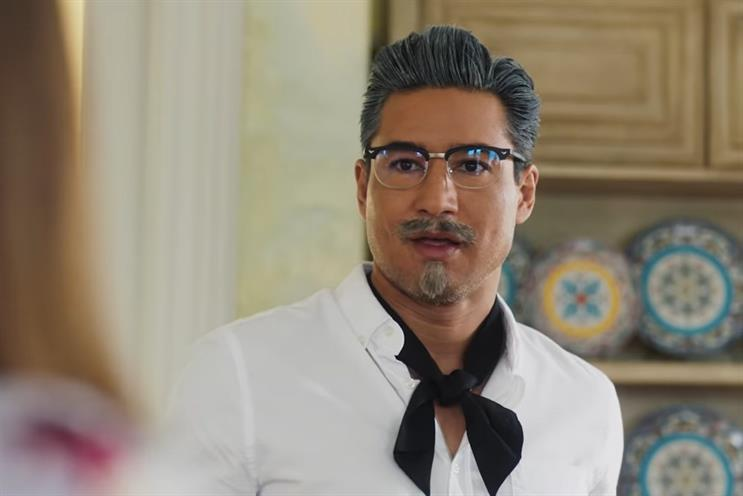 KFC: Mario Lopez starred as a hot young Colonel Sanders in 16-minute film 'A Recipe For Seduction'