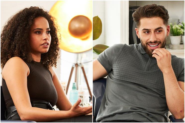 ITV: Amber Rose Gill and Kem Cetinay deliver advice alongside salon treatments