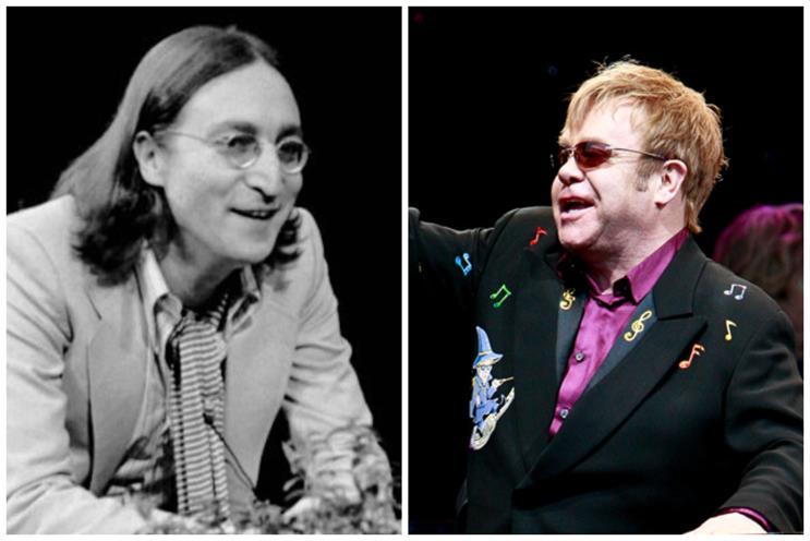 Lennon and John: both popular with John Lewis