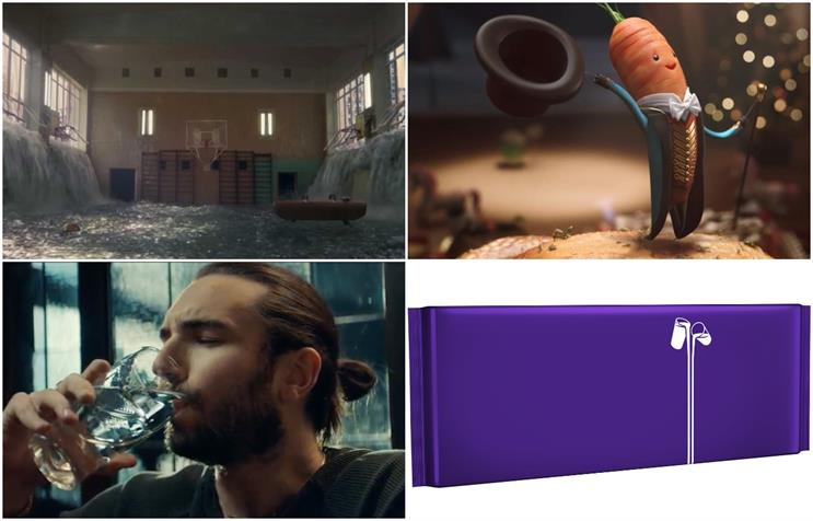 Most-read news: (clockwise from top left) PlayStation, Aldi, Cadbury, Guinness
