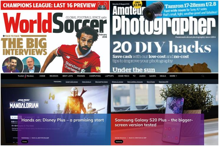 Future: TI Media owns titles including World Soccer, Amateur photographer and Trusted Reviews