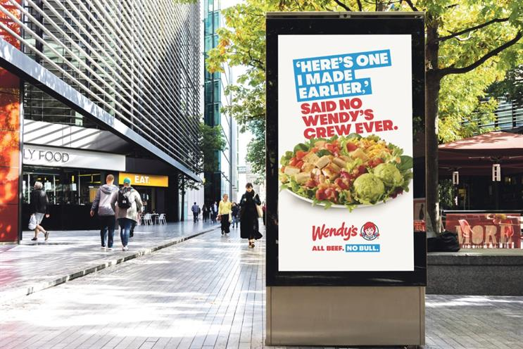 Wendy's: campaign promotes brand's freshly made food