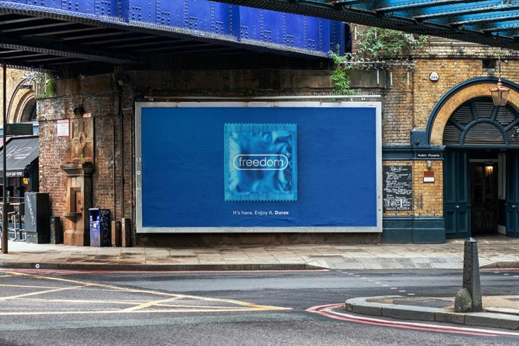 Durex: tactical ads come after lifting of Covid restrictions