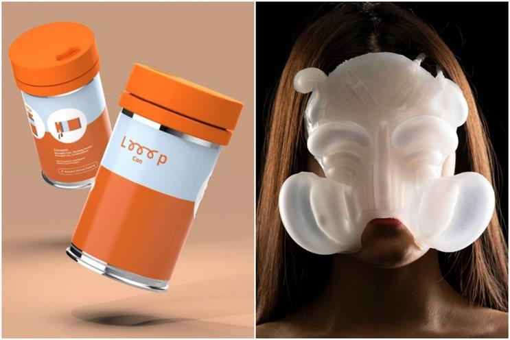 Nova Awards: shortlist includes period poverty product Looop Can and experimental mask Liǎn