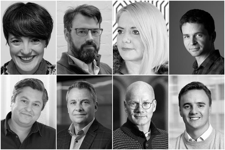 Clockwise from top left: Mackay-Sinclair, Sloan, Jordan Bambach, Palmer, Smith, O'Loughlin, Hassett, Al‑Zaidy,
