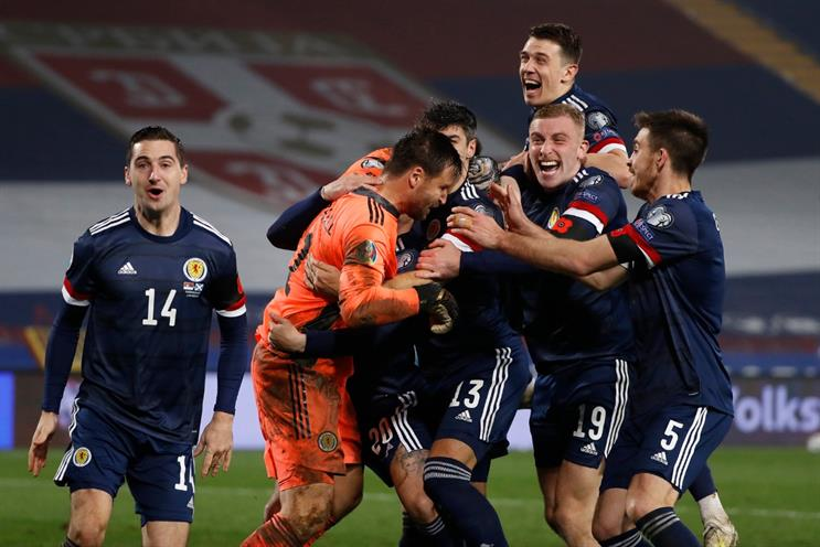 Euro 2020: Scotland have qualified for the tournament, along with England and Wales (Picture: Srdjan Stevanovic/Getty Images)