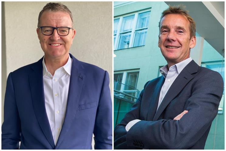 M&C Saatchi: Richard Thompson (left) and Tim Duffy