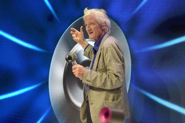 Dyson: founder Sir James Dyson at a launch event in 2016 (photo: Jason Kempin / Stringer / Getty Images)