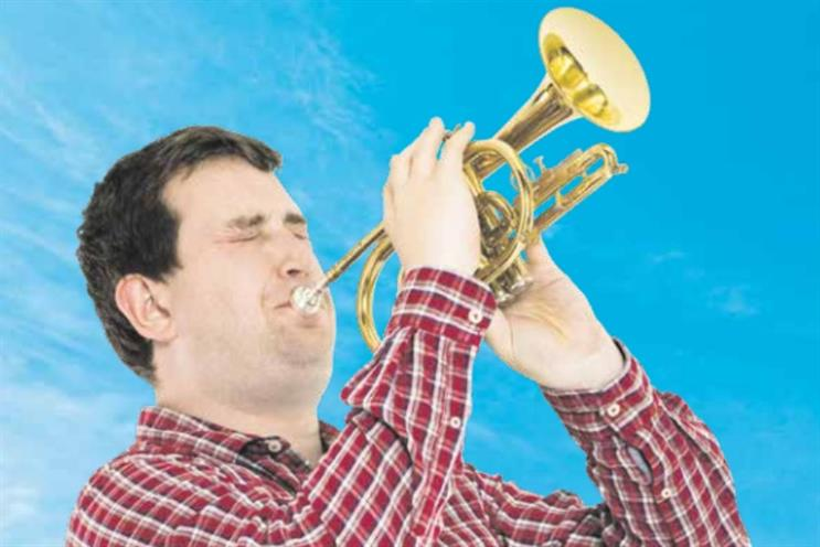 Plusnet: cornet is similar to a trumpet but features wider, more conical tubing