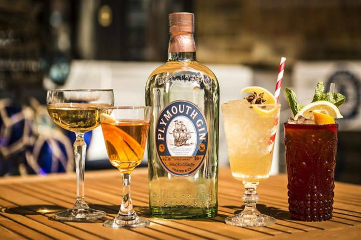 Plymouth Gin: one of the brands featured at Gin Bop