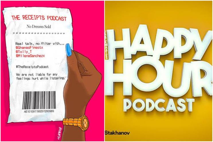Spotify Podcast Ads: available on shows such as 'The Receipts' and 'Jaack Maate's Happy Hour'