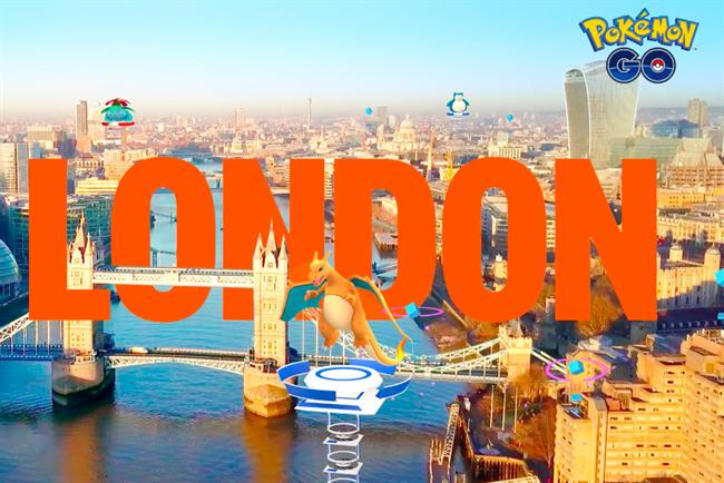 Pokémon Go: now working with Wieden & Kennedy London