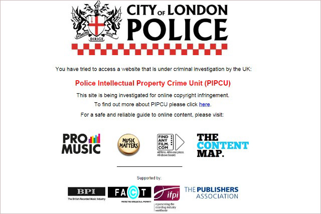 Piracy: police unit grabs an extra £3m in government funding