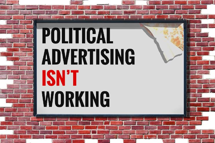Political advertising isn't working