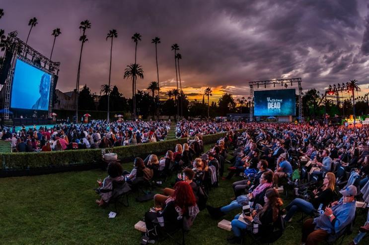 Pop2Life brought together 1,500 'Walking Dead' fans for The Talking Dead Live