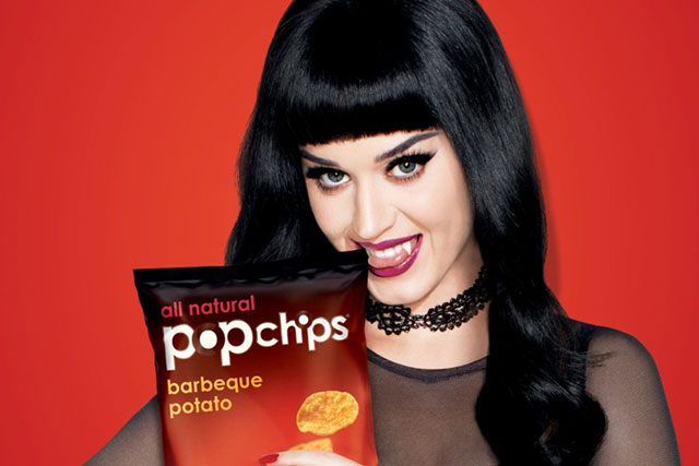 Popchips: formerly hired Katy Perry as brand ambassador