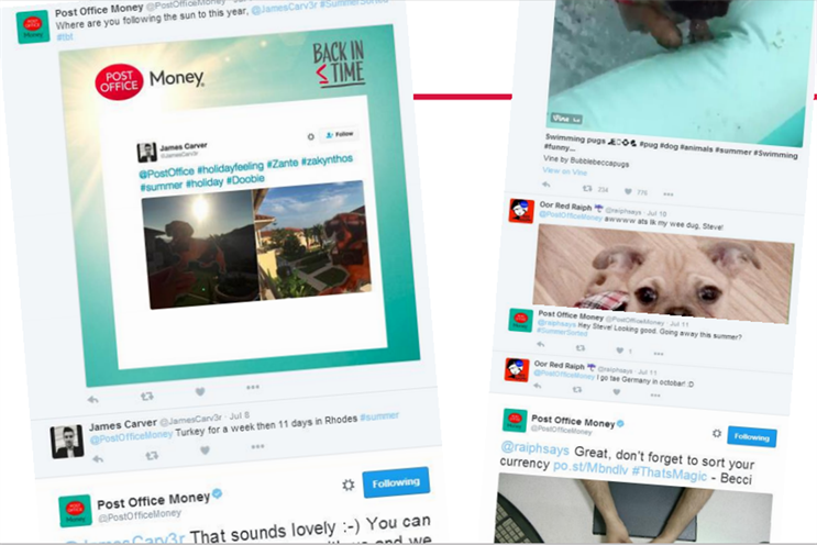 How the Post Office doubled its social media following and broadcasted their travel money products
